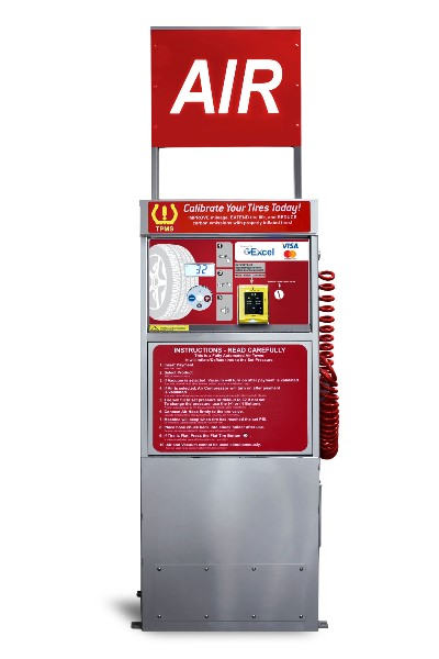 SC09-SS Pay Air Machine