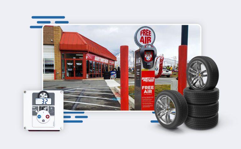 Customer Tire Shop Excel Air Machine