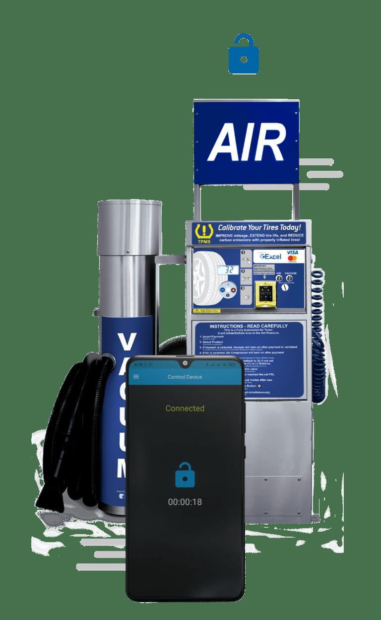 Pay Air Machine